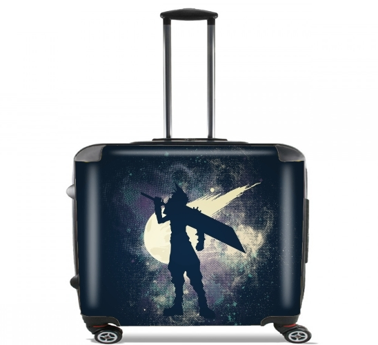 "Ex SOLDIER for Wheeled bag cabin luggage suitcase trolley 17"" laptop"