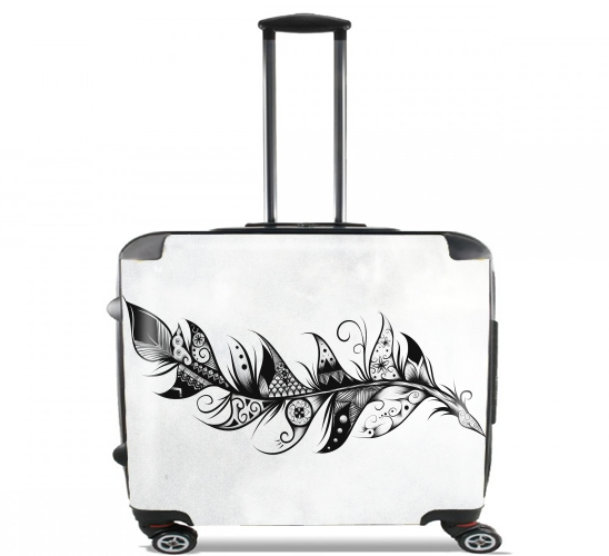 "Feather for Wheeled bag cabin luggage suitcase trolley 17"" laptop"