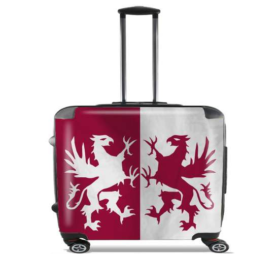 "Flag House Connington for Wheeled bag cabin luggage suitcase trolley 17"" laptop"