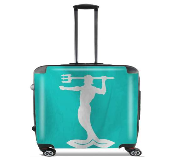 "Flag House Manderly for Wheeled bag cabin luggage suitcase trolley 17"" laptop"