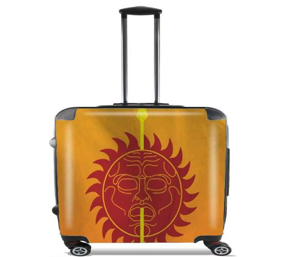 "Flag House Martell for Wheeled bag cabin luggage suitcase trolley 17"" laptop"