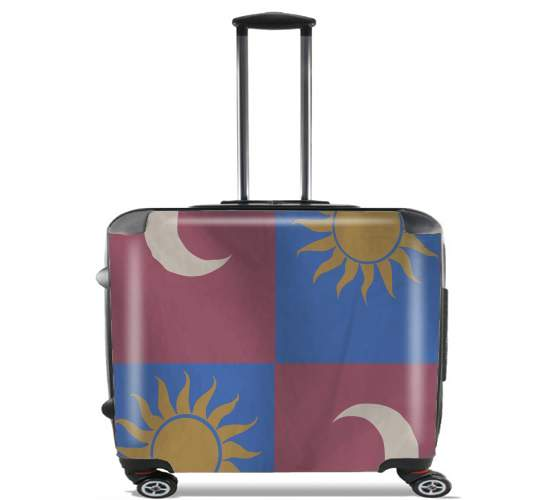 "Flag House Tarth for Wheeled bag cabin luggage suitcase trolley 17"" laptop"