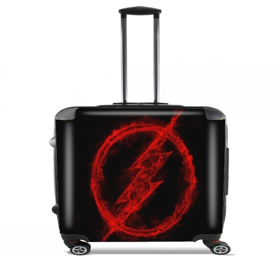 "Flash Smoke for Wheeled bag cabin luggage suitcase trolley 17"" laptop"