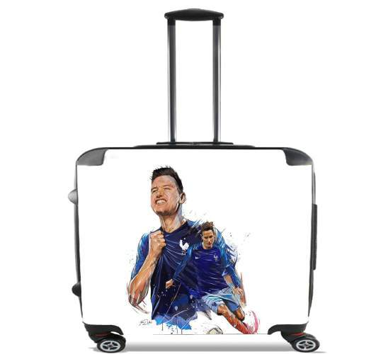 "florian thauvin for Wheeled bag cabin luggage suitcase trolley 17"" laptop"