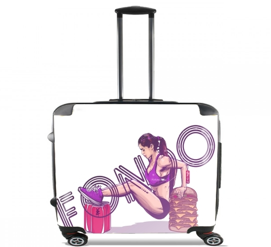"Fondo for Wheeled bag cabin luggage suitcase trolley 17"" laptop"