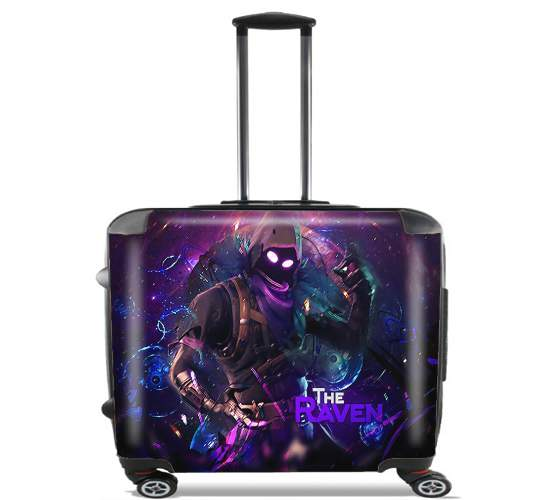 "Fortnite The Raven for Wheeled bag cabin luggage suitcase trolley 17"" laptop"