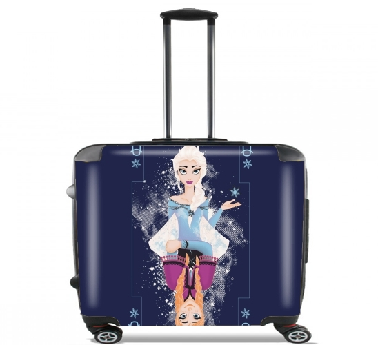 "Frozen card for Wheeled bag cabin luggage suitcase trolley 17"" laptop"