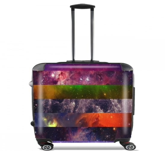 "Galaxy Strips for Wheeled bag cabin luggage suitcase trolley 17"" laptop"