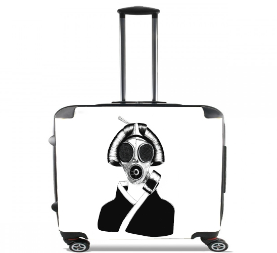 "Geisha II for Wheeled bag cabin luggage suitcase trolley 17"" laptop"