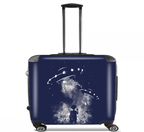 "Going home for Wheeled bag cabin luggage suitcase trolley 17"" laptop"