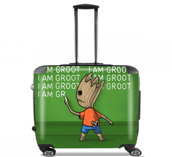 "Groot Detention for Wheeled bag cabin luggage suitcase trolley 17"" laptop"