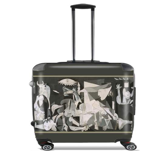 "Guernica for Wheeled bag cabin luggage suitcase trolley 17"" laptop"