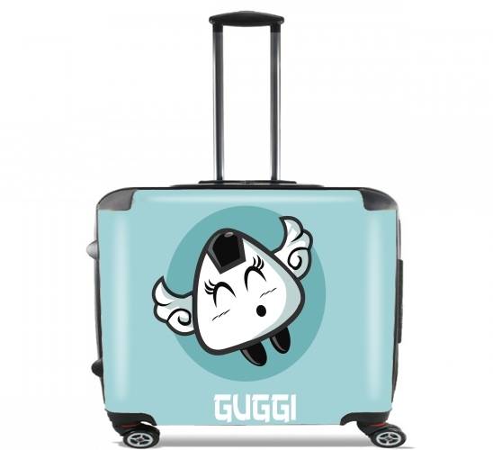 "Guggi for Wheeled bag cabin luggage suitcase trolley 17"" laptop"