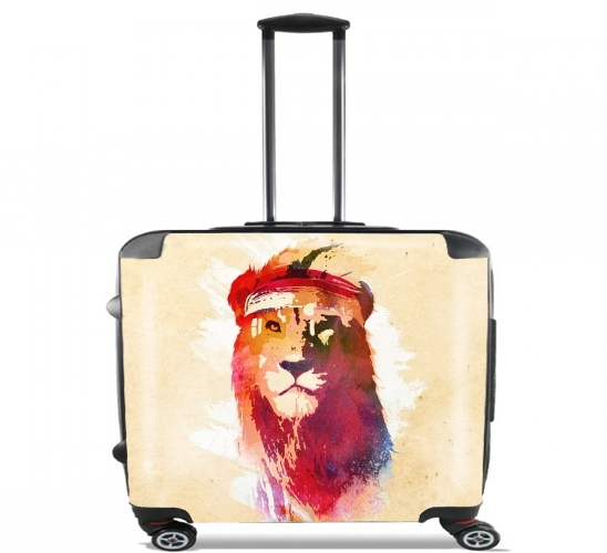 "Gym Lion for Wheeled bag cabin luggage suitcase trolley 17"" laptop"