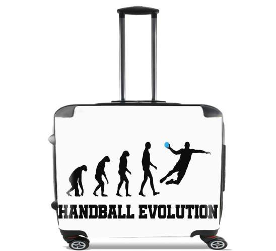 "Handball Evolution for Wheeled bag cabin luggage suitcase trolley 17"" laptop"