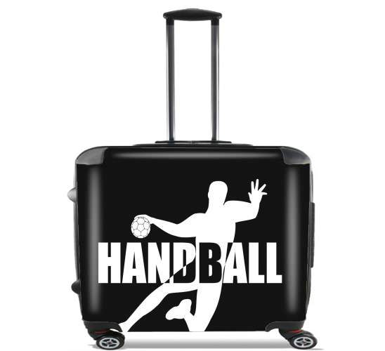 "Handball Live for Wheeled bag cabin luggage suitcase trolley 17"" laptop"