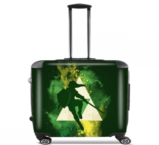 "Hero of Time for Wheeled bag cabin luggage suitcase trolley 17"" laptop"