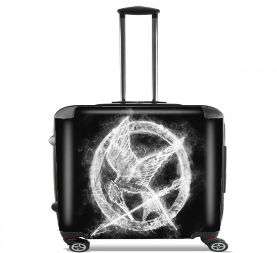 "Hunger Smoke for Wheeled bag cabin luggage suitcase trolley 17"" laptop"