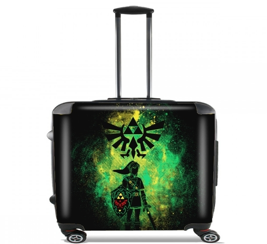 "Hyrule Art for Wheeled bag cabin luggage suitcase trolley 17"" laptop"