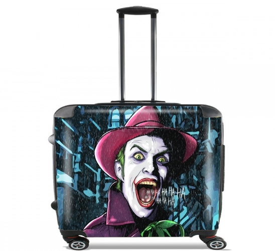 "It is a fuckin joke? for Wheeled bag cabin luggage suitcase trolley 17"" laptop"