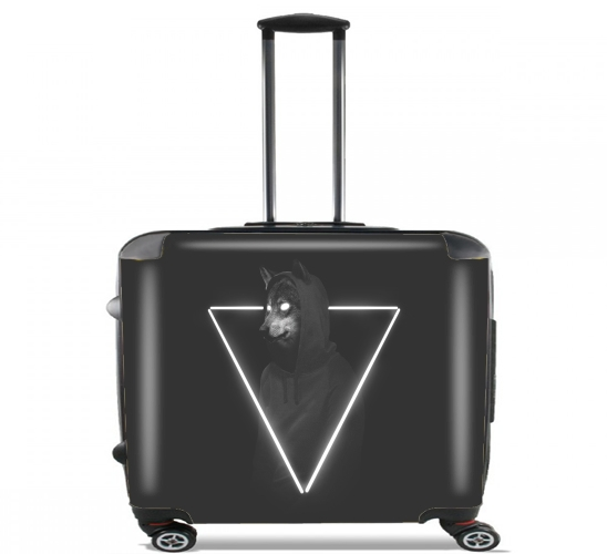 "It's me inside me for Wheeled bag cabin luggage suitcase trolley 17"" laptop"