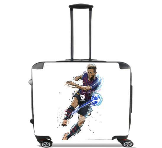 "Ivan The Croatian Shooter for Wheeled bag cabin luggage suitcase trolley 17"" laptop"