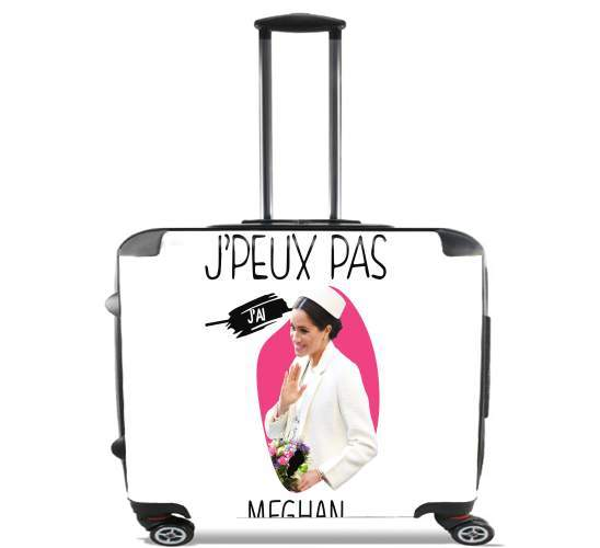"Je peux pas jai meghan for Wheeled bag cabin luggage suitcase trolley 17"" laptop"