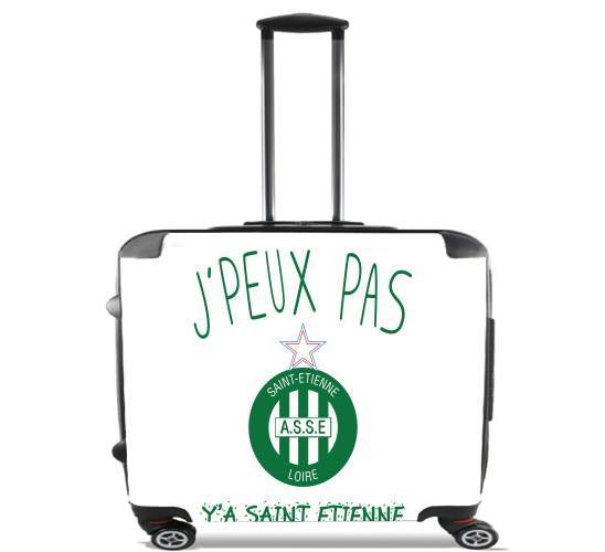 "Je peux pas ya saint etienne for Wheeled bag cabin luggage suitcase trolley 17"" laptop"