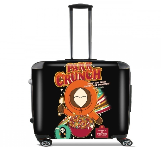 "Kenny crunch for Wheeled bag cabin luggage suitcase trolley 17"" laptop"