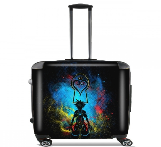 "Kingdom Art for Wheeled bag cabin luggage suitcase trolley 17"" laptop"