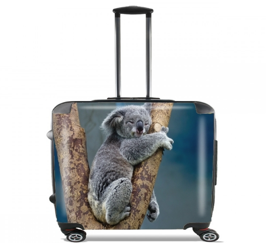 "Koala Bear Australia for Wheeled bag cabin luggage suitcase trolley 17"" laptop"