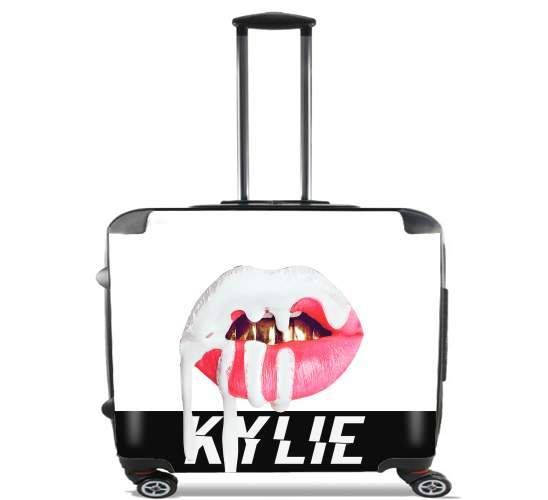 "Kylie Jenner for Wheeled bag cabin luggage suitcase trolley 17"" laptop"