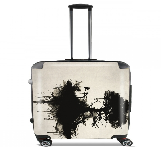 "Last Tree Standing for Wheeled bag cabin luggage suitcase trolley 17"" laptop"