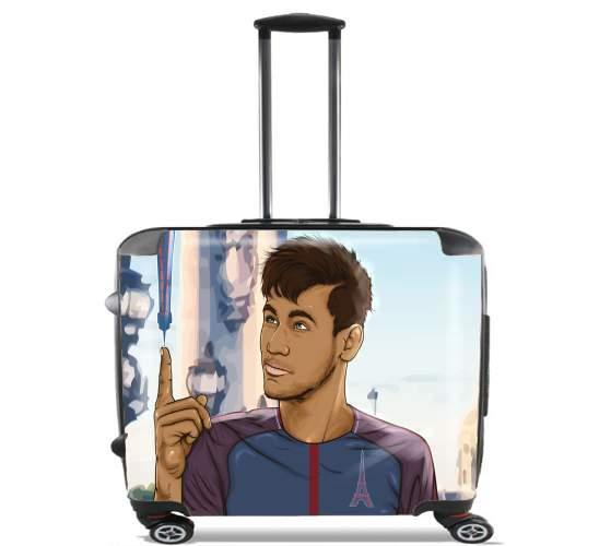 "Le nouveau titi Parisien Ney Jr Paris for Wheeled bag cabin luggage suitcase trolley 17"" laptop"