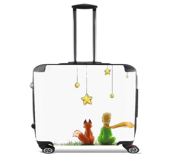 "Le petit Prince for Wheeled bag cabin luggage suitcase trolley 17"" laptop"