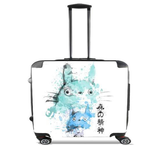 "Legendary Spirit for Wheeled bag cabin luggage suitcase trolley 17"" laptop"