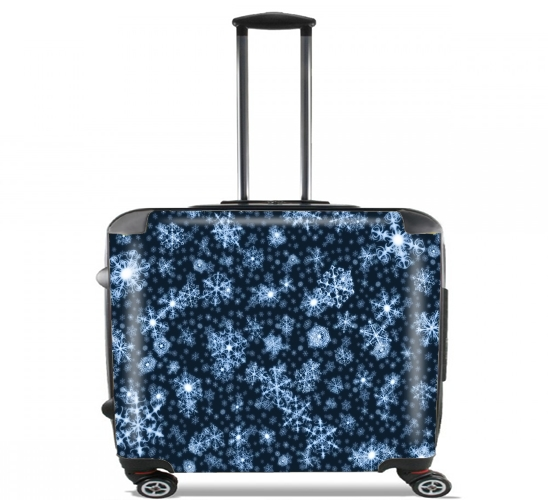 "Let It Snow for Wheeled bag cabin luggage suitcase trolley 17"" laptop"