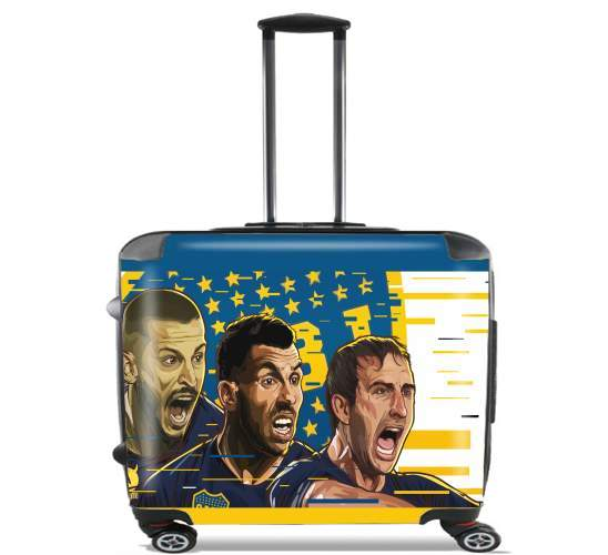 "Libertadores Trio Bostero for Wheeled bag cabin luggage suitcase trolley 17"" laptop"