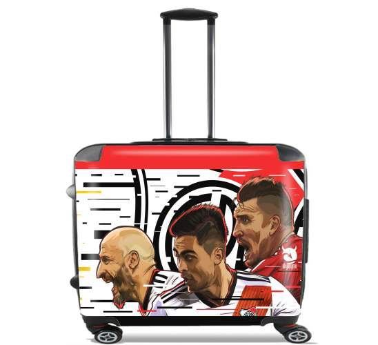 "Libertadores Trio Gallina for Wheeled bag cabin luggage suitcase trolley 17"" laptop"