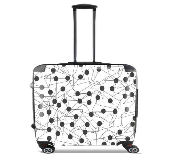 "LICICLES for Wheeled bag cabin luggage suitcase trolley 17"" laptop"