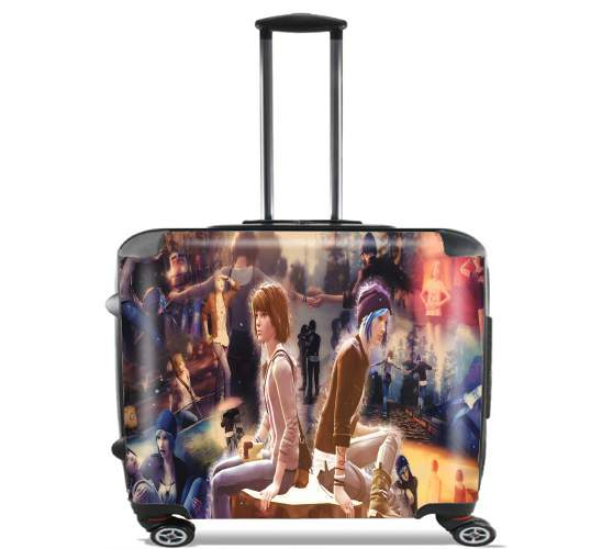 "Life Is Strange Mixed Scenes for Wheeled bag cabin luggage suitcase trolley 17"" laptop"