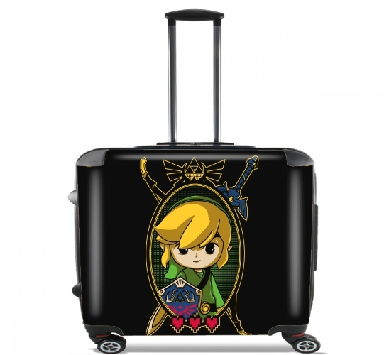 "Link Portrait for Wheeled bag cabin luggage suitcase trolley 17"" laptop"