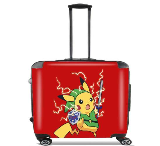 "Linkachu for Wheeled bag cabin luggage suitcase trolley 17"" laptop"