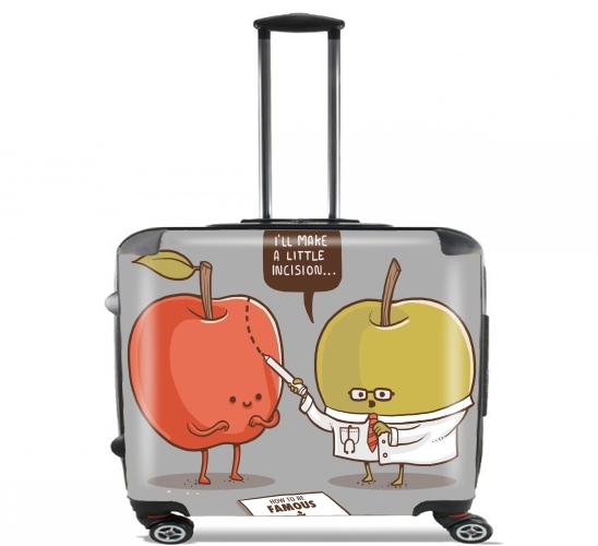 "Famous Apple for Wheeled bag cabin luggage suitcase trolley 17"" laptop"