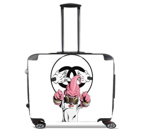 "Majin BUU Boo for Wheeled bag cabin luggage suitcase trolley 17"" laptop"