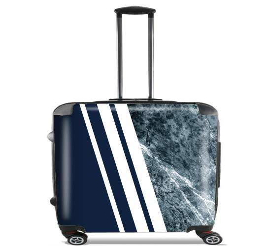 "Marble Navy for Wheeled bag cabin luggage suitcase trolley 17"" laptop"