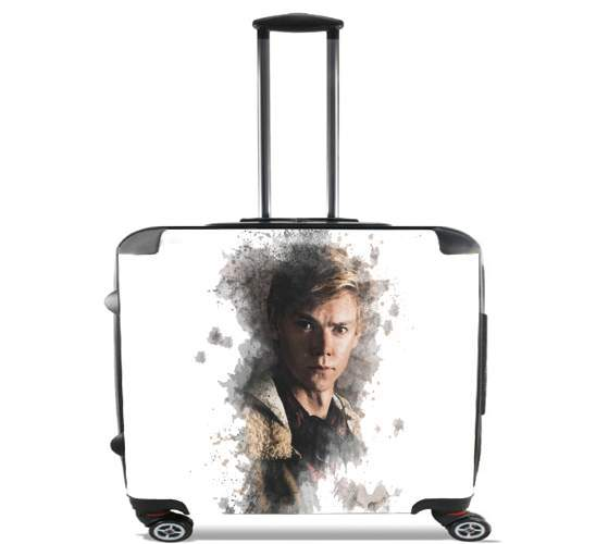 "Maze Runner brodie sangster for Wheeled bag cabin luggage suitcase trolley 17"" laptop"