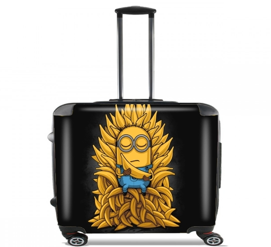 "Minion Throne for Wheeled bag cabin luggage suitcase trolley 17"" laptop"