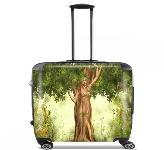 "Mother Earth Mana for Wheeled bag cabin luggage suitcase trolley 17"" laptop"