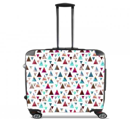 "Multicolor Trianspace  for Wheeled bag cabin luggage suitcase trolley 17"" laptop"